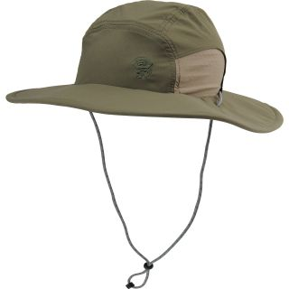 MOUNTAIN HARDWEAR Mens Chiller II Wide Brim Hat   Size Reg, Stone Green