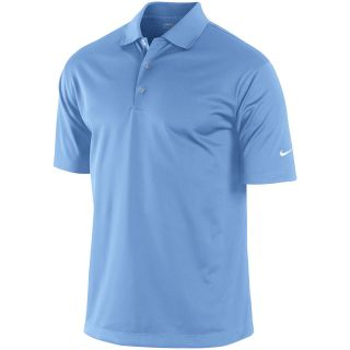 NIKE Mens Stretch Tech Golf Polo   Size Small, Valor Blue