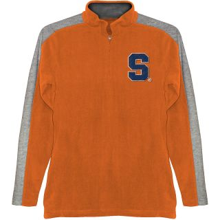 T SHIRT INTERNATIONAL Mens Syracuse Orange BF Conner Quarter Zip Jacket   Size