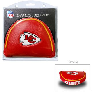 Team Golf Kansas City Chiefs Mallet Putter Cover (637556314314)