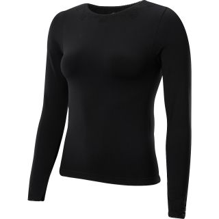 Hot Chillys Seamless Smooth Scoopneck Long Sleeve Baselayer Womens   Size