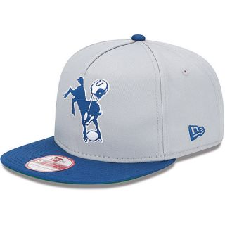 NEW ERA Mens Indianapolis Colts NFL Team Flip A Frame 9FIFTY Snapback Cap