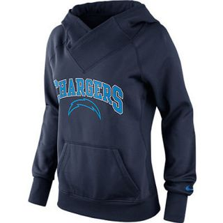 NIKE Womens San Diego Chargers All Time Therma FIT Hoody   Size Medium,