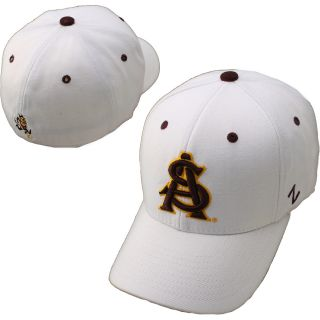 Zephyr Arizona State Sun Devils DH Fitted Hat   White   Size 7, Arizona St.