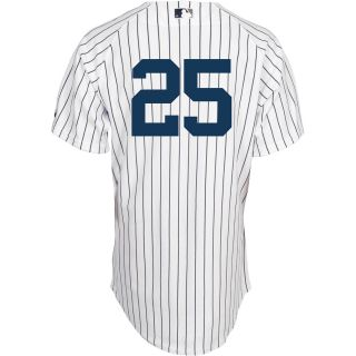 Majestic Athletic New York Yankees Mark Teixeira Authentic Home Jersey   Size