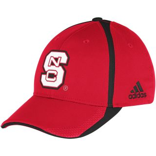 adidas Mens North Carolina State Wolfpack Sideline Player Flex Cap   Size S/m,