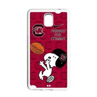 NCAA South Carolina Gamecocks Funny Snoopy Nike Logo Hard Cases Cover for Samsung Galaxy Note 3 Cell Phones & Accessories