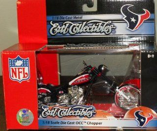 NFL Houston Texans Press Pass OCC Chopper 118 Scale Diecast  Childrens Die Cast Vehicles  Sports & Outdoors