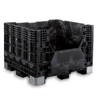 BUCKHORN Extra Heavy Duty Bulk Containers   Black
