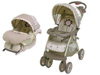 New Baby Trend GABRIELLA Stroller Infant Car Seat Travel System Pink For Girl  Baby