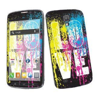 Samsung Galaxy S4 Active SGH i537 (AT&T) Vinyl Skin Decal Sticker   Love Paint By SkinGuardz Cell Phones & Accessories