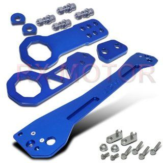 92 95 Honda Civic JDM Rear Tie Sway Bar Subframe Brace And CNC Bumper Tow Hook Automotive