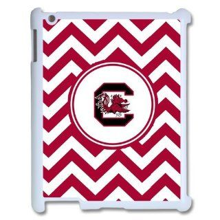 NCAA South Carolina Gamecocks Logo Hard Cases Cover for Ipad 2/3/4 Electronics