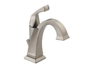 Delta Faucet 551 SS Dryden Single Lever Handle Centerset Bath Faucet, Brilliance Stainless   Touch On Bathroom Sink Faucets