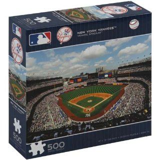 MLB New York Yankees Stadium 500 Piece Puzzle  Jigsaw Puzzles  Sports & Outdoors