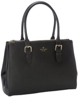 Kate Spade New York Charlotte Street Reena PXRU4008 Tote, Black, One Size Shoulder Handbags Clothing