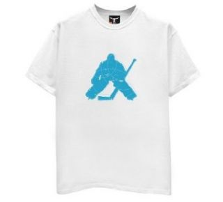 Hockey Goalie Silhouette T Shirt Clothing