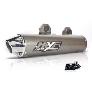 HMF Yamaha Raptor 700 2006   2013 Borich Slip On Exhaust Muffler & EFI Automotive
