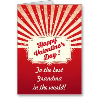 Retro Valentine's Card Personalize for Mom/Dad etc