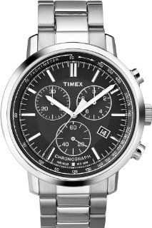 Timex Chronograph Black Dial Men's watch #T2N557 Watches