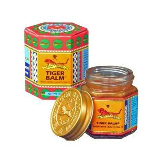 Tiger Balm Red Herbal Rub Muscles Pain Relief Headache 30 G  Facial Cleansing Creams  Beauty