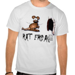 RAT FREAK FUNNY CARTOON RAT TEES