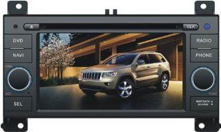In Dash Car DVD Player GPS Radio System For Jeep Grand Cherokee 2011  Vehicle Dvd Players   Players & Accessories