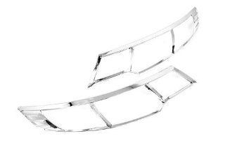 Chrome Front Head Light Cover Trim   KIA Forte 09 10 Automotive