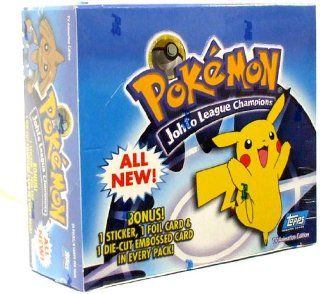 Topps Pokemon Trading Cards Johto League Champions Booster Box 24 Packs Toys & Games