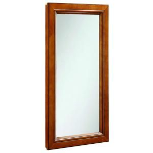 Design House Montclair 16 in. x 30 in. Surface Mount Single Door Medicine Cabinet in Chestnut Glaze 541375