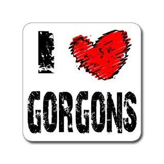 I Love Heart GORGONS   Medusa   Window Bumper Laptop Sticker Automotive