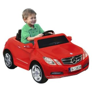National Products   6V Mercedes Benz Ride On   Red