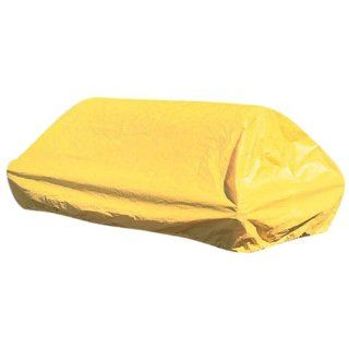 New Pig PAK579 Vinyl Elasticized Tarp, Yellow, For 360 Gallon Tank Containment Unit Science Lab Spill Containment Supplies