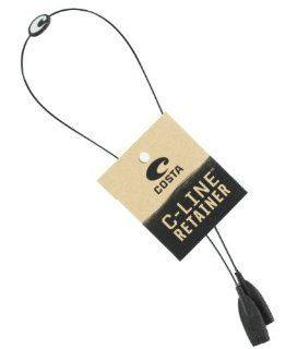Costa Del Mar Black C Line Retainer  Costa Del Mar Strap  Sports & Outdoors