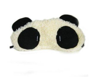 JMT 1 Pcs Lovely Fluffy Panda Travel Rest Sleep Eyeshade Blinder Eyepatch Eye Mask Health & Personal Care