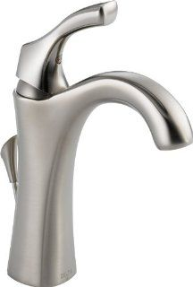 Delta 592 SS DST Addison Single Handle Centerset Lavatory Faucet, Stainless   Touch On Bathroom Sink Faucets