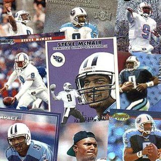 Tennessee Titans Steve McNair 20 Trading Card Set Sports Collectibles