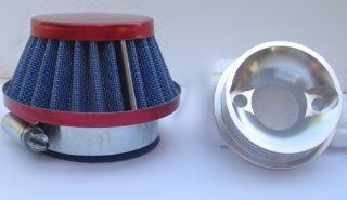 Walbro 603 Style Go Ped Red Racing High Flow Performance Air Filter Kit G230RC Automotive