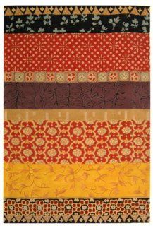 Safavieh Rodeo Drive Collection RD622K Handmade Rust and Gold Wool Area Rug, 2 Feet 6 Inch by 4 Feet 6 Inch   Runners