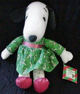 Very Rare Vintage Peanuts Snoopy Sister Belle Christmas Soft Doll Toys & Games