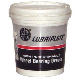 Lubriplate L0220 004 Non Corrosive Lithium Complex Wheel Bearing Grease, 16 oz Plastic Tub, Off White