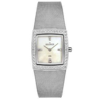 Skagen Women's 608SSS Stainless Steel Mesh Watch at  Women's Watch store.