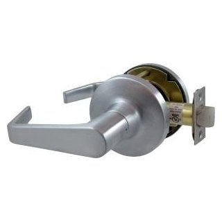 Falcon T101S D 626 T Series Grade 1 Extra Heavy Duty Cylindrical Chasis Non Handed Lock, Passage Function, Keyless Cylinder, Dane Lever, Satin Chrome Finish Door Levers