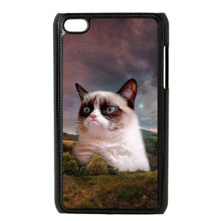 Custom Grumpy Cat Cover Case for iPod Touch 4th Generation PD1269 Cell Phones & Accessories