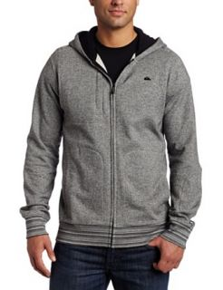 Quiksilver Men's Easy Rider Fleece Hoodie, Heather Grey, Medium at  Men�s Clothing store Fashion Hoodies