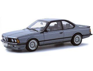 1988 BMW M 635 CSI Shadow Line diecast model car 118 scale die cast by AUTOart   Delphin Metallic Toys & Games