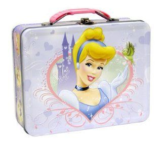 Disney Princess Cinderella Metal Girls Tin Lunch Box Toys & Games