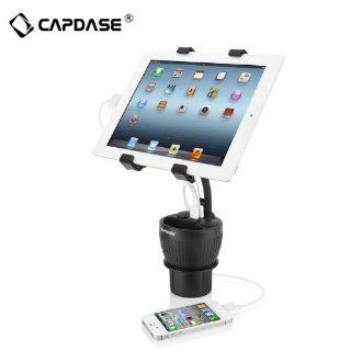 Forester� Capdase 3.4A Multifunction PowerCup Max with Tab X Mount Car Cup Holder Charger for iPhone / iPad / iPod / Samsung / Tab Black Cell Phones & Accessories