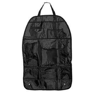 Amico Black Travel Car Auto Back Seat Organizer Backpack Holder  Picnic Backpack Accessories  Patio, Lawn & Garden