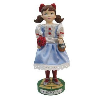 Kurt Adler Dorothy Nutcracker Figurine, 12 Inch   Decorative Christmas Nutcrackers